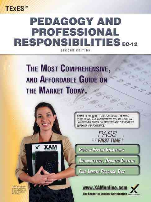 Texes Pedagogy and Professional Responsibilities Ec-12 Teacher Certification Study Guide Teacher Prep By Wynne, Sharon A.